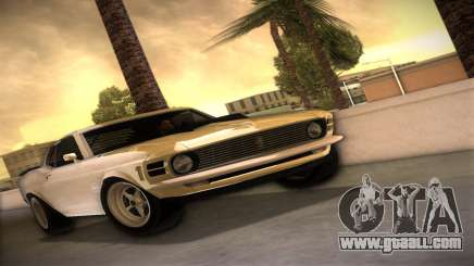Ford Mustang 492 for GTA Vice City