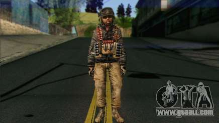 Task Force 141 (CoD: MW 2) Skin 16 for GTA San Andreas