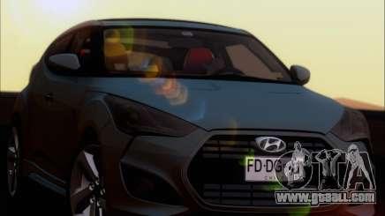 Hyundai Veloster 2013 for GTA San Andreas