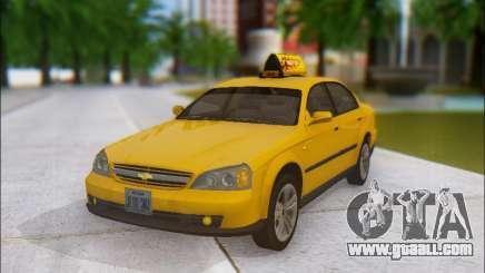 Chevrolet Evanda Taxi for GTA San Andreas