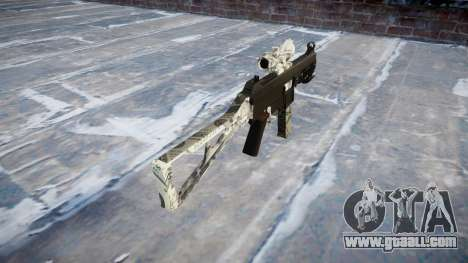 Gun UMP45 Benjamins for GTA 4 second screenshot