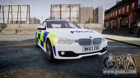 BMW 335i 2013 Central Motorway Police [ELS] for GTA 4