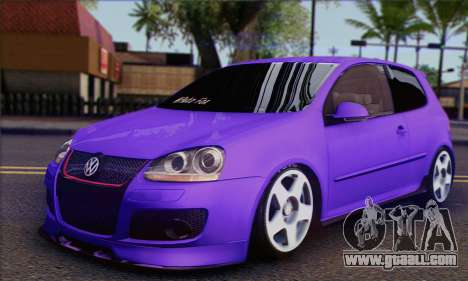 Volkswagen Golf Mk5 GTi Turkish Tuned for GTA San Andreas