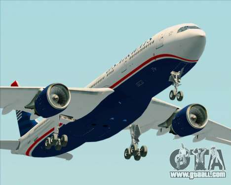 Airbus A330-200 US Airways for GTA San Andreas interior