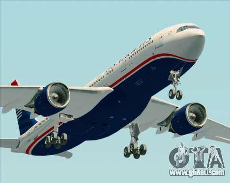 Airbus A330-200 US Airways for GTA San Andreas interior