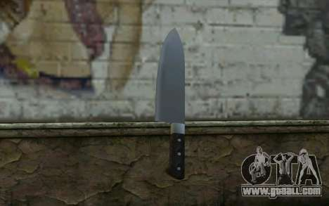 Kitchen Knife from Hitman 2 for GTA San Andreas