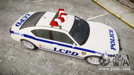 Bravado Buffalo Police for GTA 4 right view