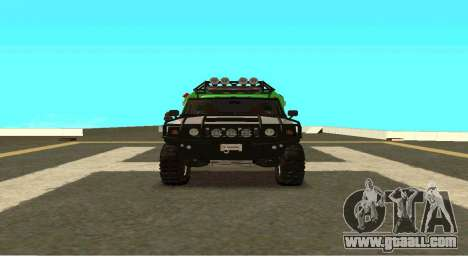 Hummer H2 Ratchet Transformers 4 for GTA San Andreas back view