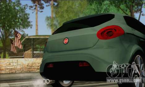 Fiat Bravo 2 for GTA San Andreas back left view