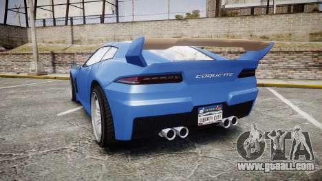GTA V Invetero Coquette for GTA 4 back left view