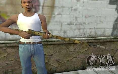 The Mosin-v8 for GTA San Andreas third screenshot