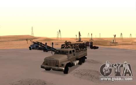 Barracks with four doors for GTA San Andreas