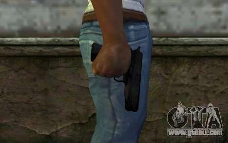 Pistol from Cutscene for GTA San Andreas third screenshot