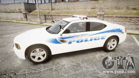 Dodge Charger 2010 PS Police [ELS] for GTA 4 left view