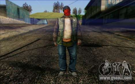 Vagabonds Skin 1 for GTA San Andreas