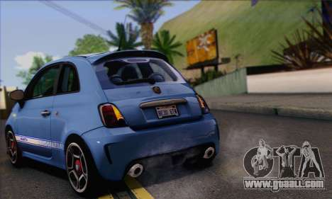 Fiat 500 Abarth 2008 for GTA San Andreas right view