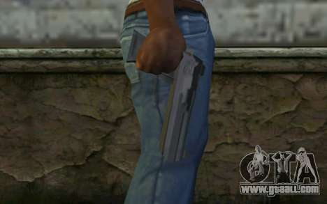 Desert Eagle from Cutscene for GTA San Andreas third screenshot