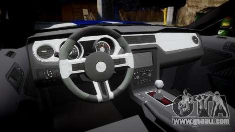 Ford Mustang GT 2014 Custom Kit PJ5 for GTA 4 inner view
