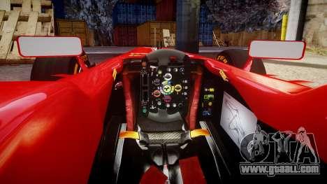 Ferrari F138 v2.0 [RIV] Alonso THD for GTA 4 inner view