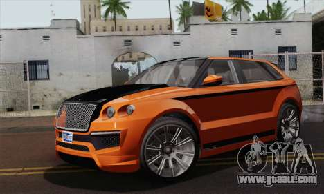 Huntley S (IVF) for GTA San Andreas