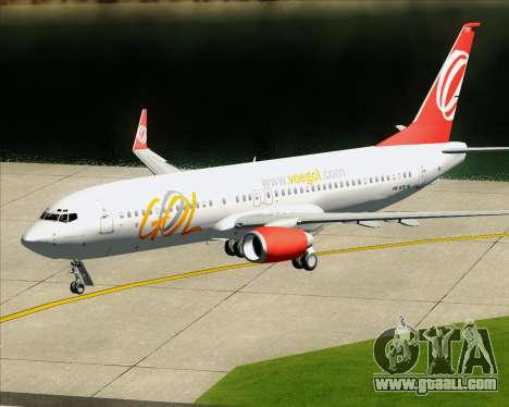 Boeing 737-800 Gol Transportes Aéreos for GTA San Andreas engine
