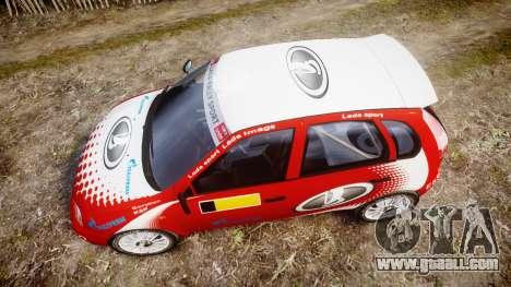 VAZ-Kalina 1119 RallyCross for GTA 4 right view