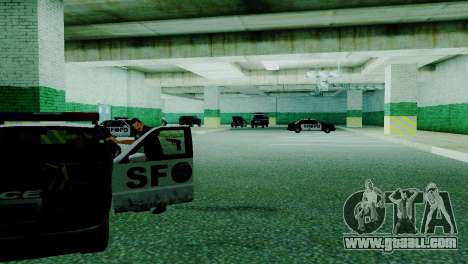 The revival of all police stations for GTA San Andreas ninth screenshot