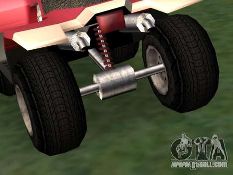 Updated Quad for GTA San Andreas right view