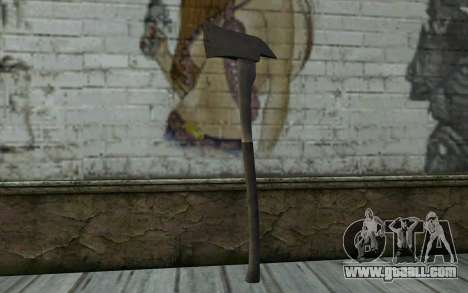 Fire axe (DayZ Standalone) v2 for GTA San Andreas