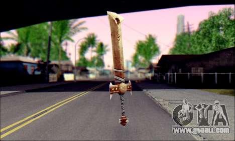 Меч (World Of Warcraft) for GTA San Andreas