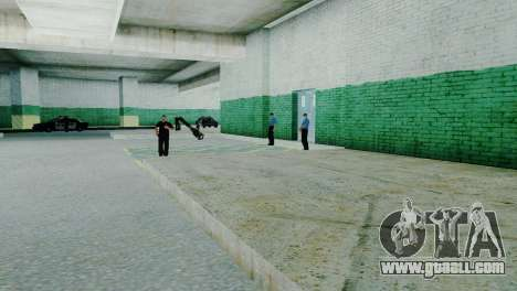 The revival of all police stations for GTA San Andreas eighth screenshot