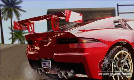 Invetero Coquette (IVF) for GTA San Andreas back left view