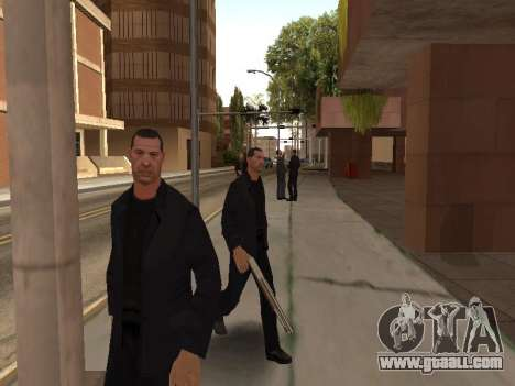 Changing areas of gangs and their weapons for GTA San Andreas fifth screenshot