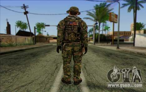 Dusty MOHW from Medal Of Honor Warfighter for GTA San Andreas second screenshot