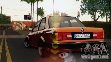 BMW M3 E30 Coupe 1987 for GTA San Andreas left view