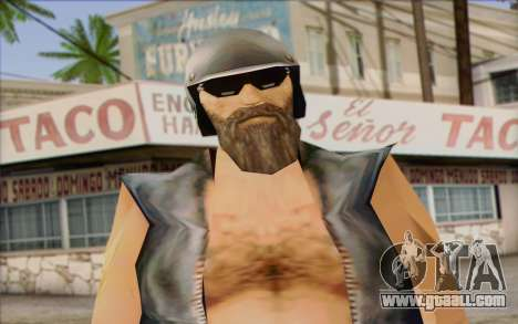 Biker from GTA Vice City Skin 2 for GTA San Andreas third screenshot