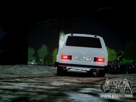 VAZ 2121 for GTA 4 back view