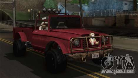 Canis Bodhi V1.0 Rusty for GTA San Andreas