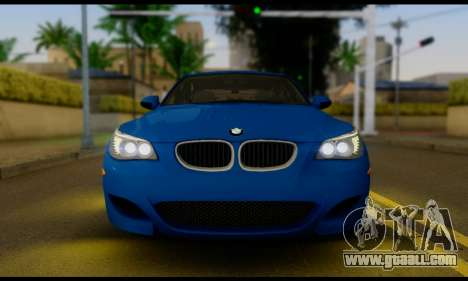 BMW M5 E60 2006 for GTA San Andreas right view