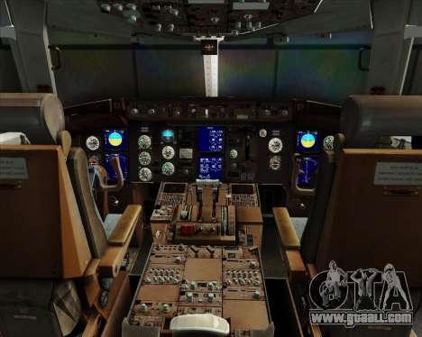 Boeing 767-330ER Condor for GTA San Andreas interior