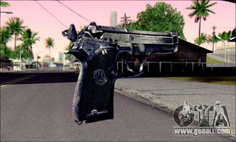 Beretta 92 for GTA San Andreas second screenshot