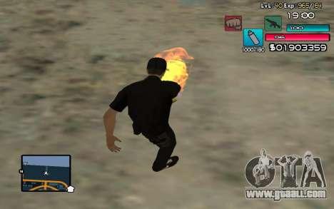 C-HUD by SampHack v.14 for GTA San Andreas