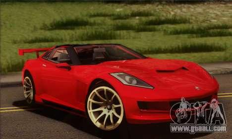 Invetero Coquette (IVF) for GTA San Andreas