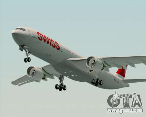 Airbus A330-300X Swiss International Air Lines for GTA San Andreas left view