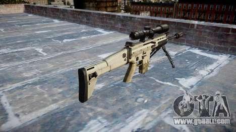 Rifle Mk 17 SCAR-H bipod for GTA 4 second screenshot