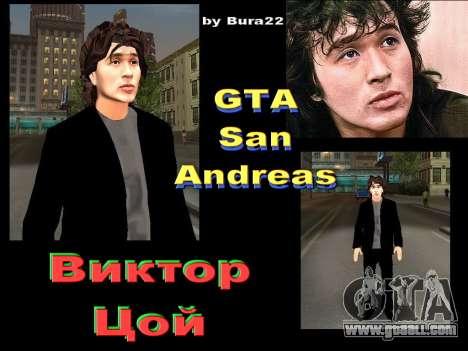 Viktor Tsoi for GTA San Andreas