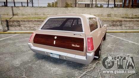 Oldsmobile Vista Cruiser 1972 Rims1 Tree4 for GTA 4 back left view