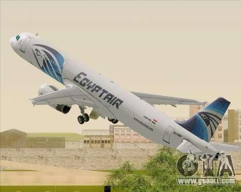 Airbus A321-200 EgyptAir for GTA San Andreas