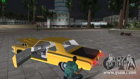 Dodge 330 Max Wedge Ramcharger 1963 for GTA Vice City side view