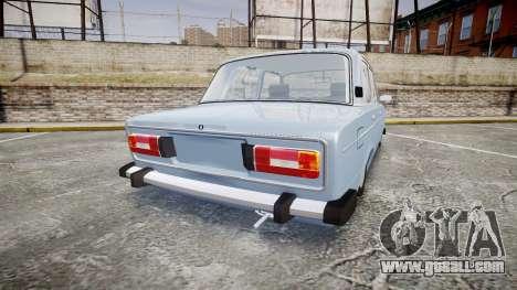 VAZ-2106 (Lada 2106) for GTA 4 back left view